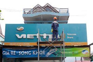 Vệ Sinh Công Nghiệp Sao Việt đồng hành cùng Viettel